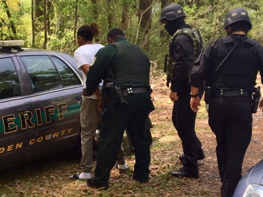 GCSO SWAT team apprehends federal fugitive Addrian
