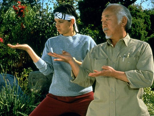 """Everybody (or at a least somebody or two) was kung fu fighting in """"The Karate Kid,"""" which screens Wednesday at Paradiso."""