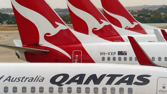 Qantas topped AirlineRatings.com's list of the world's