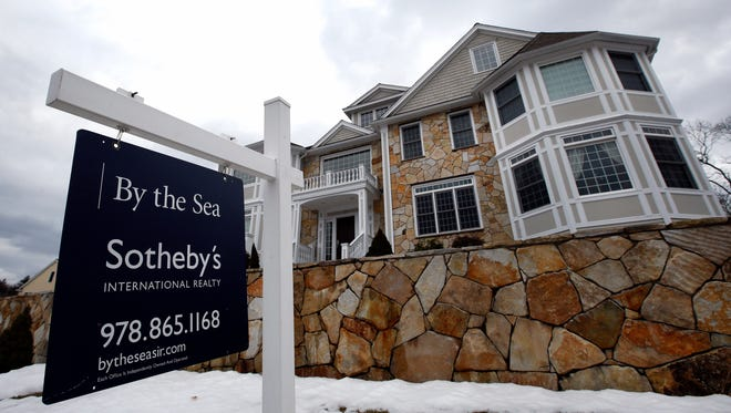 A home for sale in North Andover, Mass.