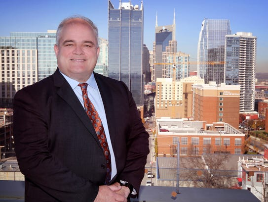 Bob Higgins, CEO and President of Barge Waggoner, photographed