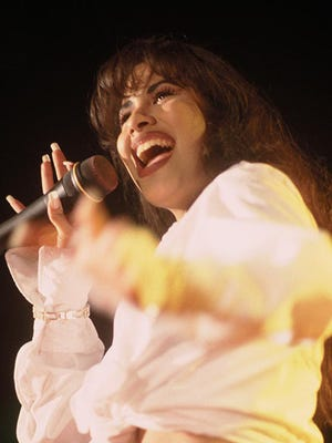 Selena went to Tennessee a week before her death to work on an English language album.