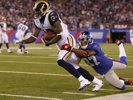 NFL: St. Louis Rams at New York Giants