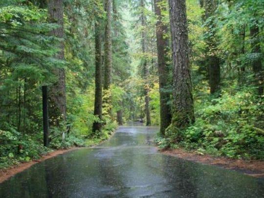 Susan Creek Campground.