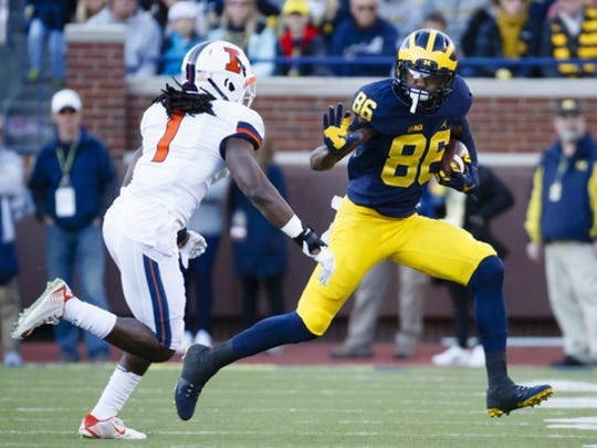 Michigan claimed rival Ohio State's spot at No. 2