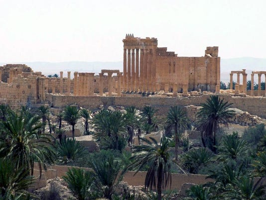 AP ISLAMIC STATE ANCIENT SITES PHOTO GALLERY I FILE SYR