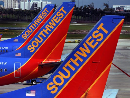 25a66d043f Southwest Airlines stands by free-bag policy despite pressure for new fees