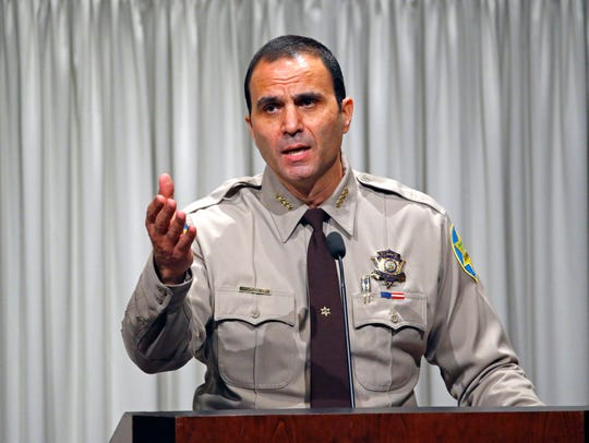 Maricopa County Sheriff Paul Penzone.