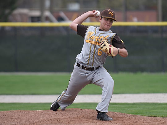 Tobey Berger (6), shown pitching against Seaholm, is