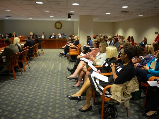 People pack a House hearing on vaccine regulations