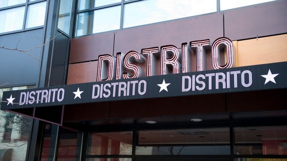 Distrito will open its Moorestown doors on July 8. Pictured is the first location in Philadelphia.