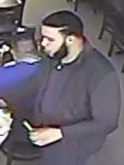 This man is wanted by police for allegedly assaulting a man in Nanuet.