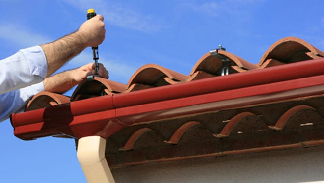 Gutters that will blend into the look of your home can be installed.