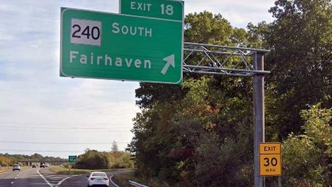 Fairhaven exit on I-195.