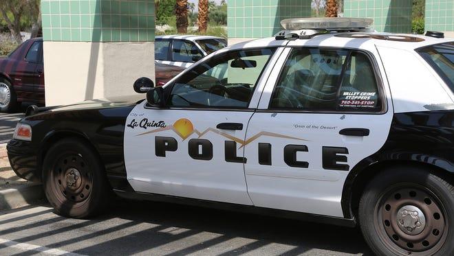 La Quinta police car.