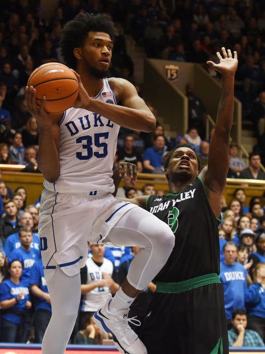 NCAA Basketball: Utah Valley at Duke