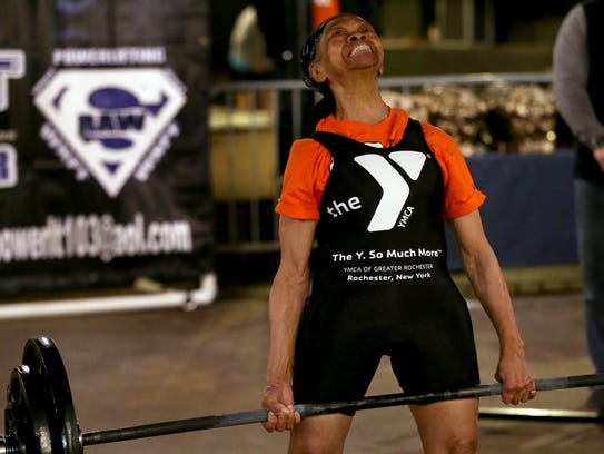Willie Murphy, 81 years old, is still power lifting