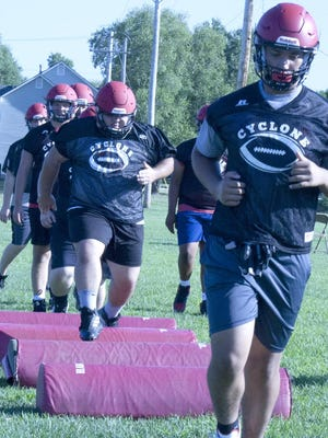 Ottawa High School football team is getting ready for next week's season opener at home against Piper.