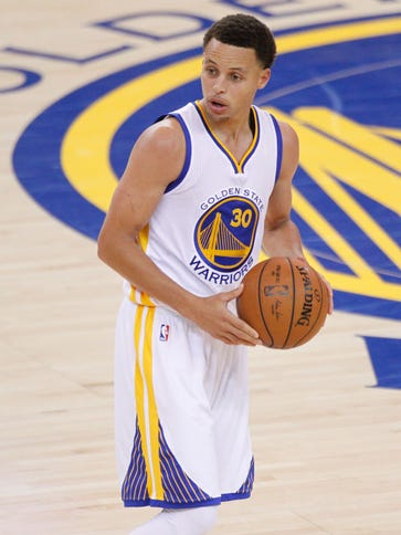 Golden State Warriors guard Stephen Curry (30) will