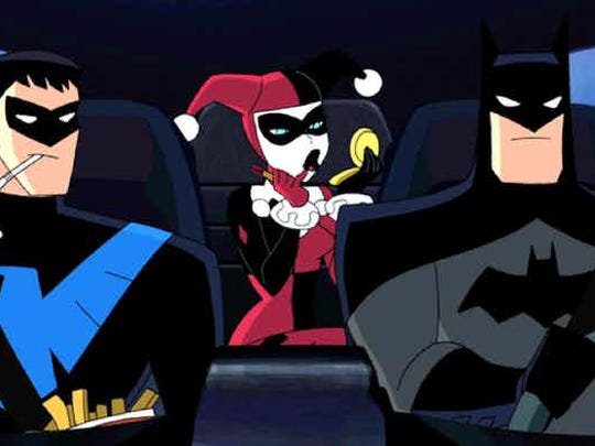 """The DC Universe gets animated when """"Batman and Harley"""