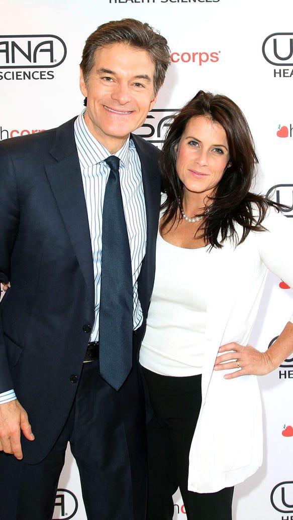Dr. Oz and wife Lisa