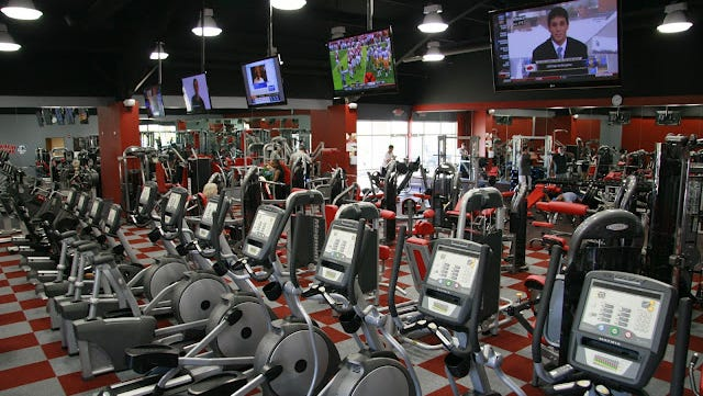 Workout Anytime is a 24-hour gym that touts its $15 per month membership fee and no long-term contract. A West Chester man wants to open a franchise in Dillonvale before year's end.