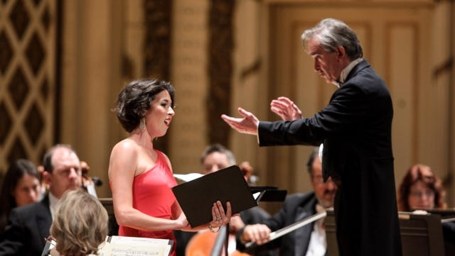 .Soprano Lisette Oropesa in her May Festival debut, with James Conlon conducting