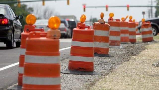 Fond du Lac Road Construction Report.