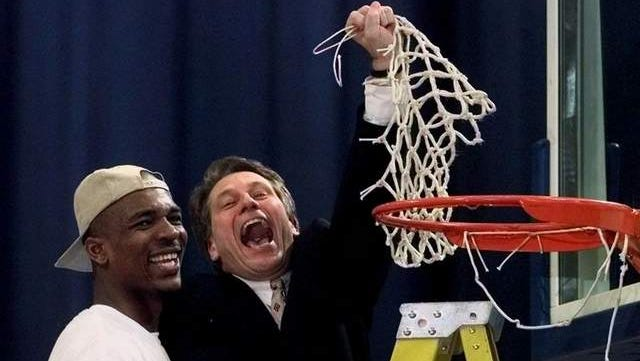 Antonio Smith was Tom Izzo's first recruit as head coach. By the time Smith left, MSU had reached the Final Four.
