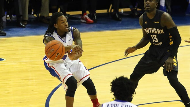Louisiana Tech point guard Speedy Smith earned Conference USA Player of the Year honors Wednesday.