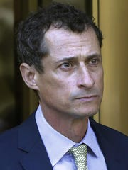 Former Congressman Anthony Weiner was convicted of