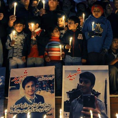 Taliban attack at Pakistan school