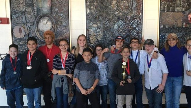 The Red Mountain Middle School Science Olympiad Team captured a third  place at the Southwest Regional Tournament held Jan. 27 at Western New Mexico University in Silver City.