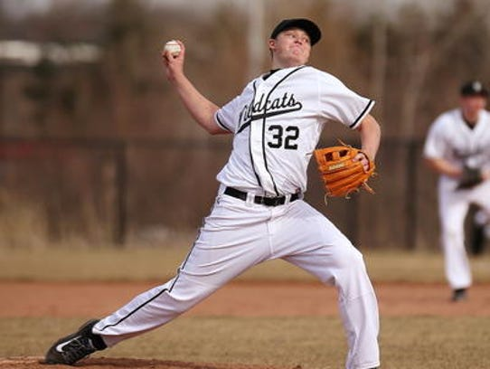One of several key returning pitchers for Plymouth