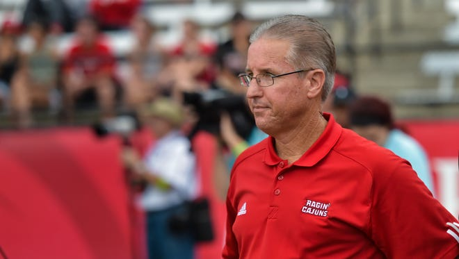 UL athletic director Scott Farmer issued a statement Friday regarding a controversial football locker room video.