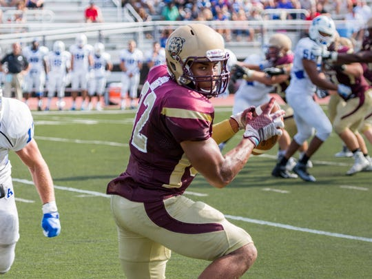 Kellen Williams, of Chambersburg, was named a PSAC-East first-team wide receiver for Kutztown University.