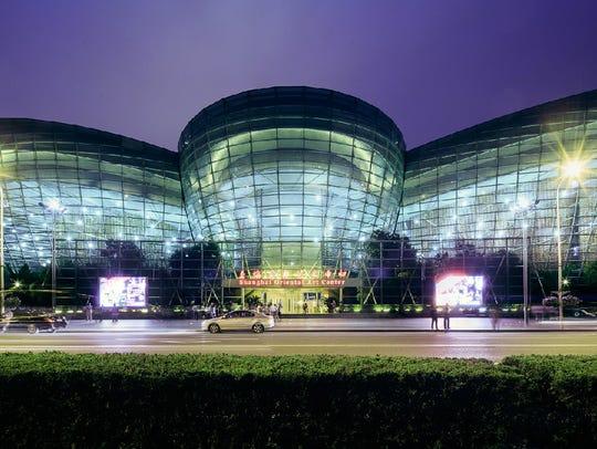 Shanghai's Oriental Arts Centre