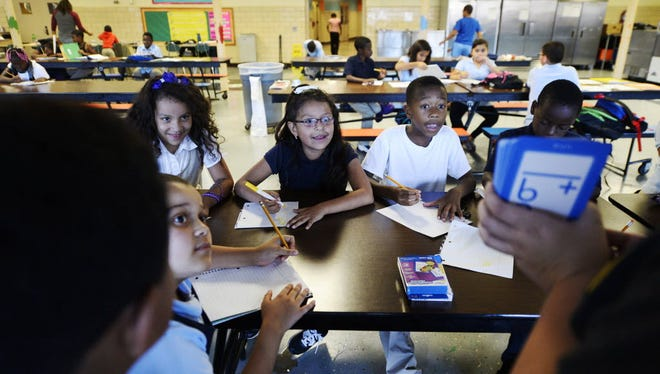 The York school district needs people to serve as role models for students.