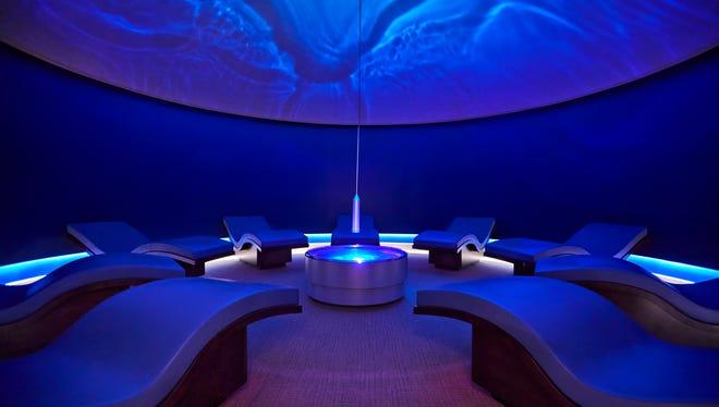 Aquavana Spa Wave  Room at Canyon Ranch SpaClub