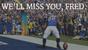 A file photo shows Fred Jackson celebrating after a