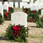 Wreaths Across America at Knoxville National Cemetery