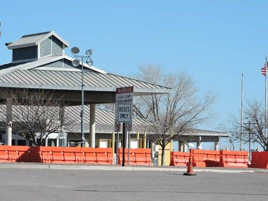 The U.S. Port of Entry near Columbus, NM is scheduled