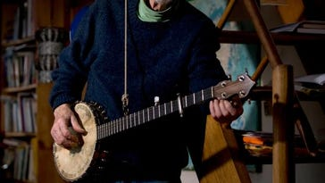 Pete Seeger, shown in 2008, died last month at 94.