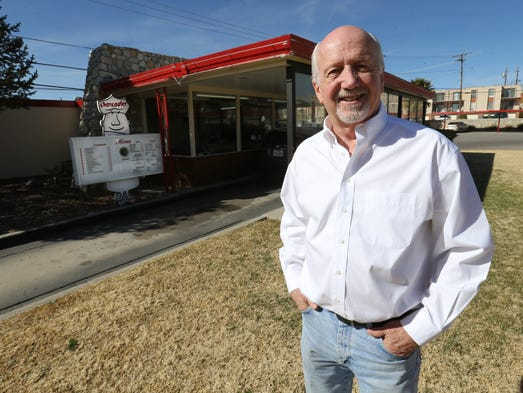 Owner Bob Cox announced the Charcoaler Drive-In hamburger
