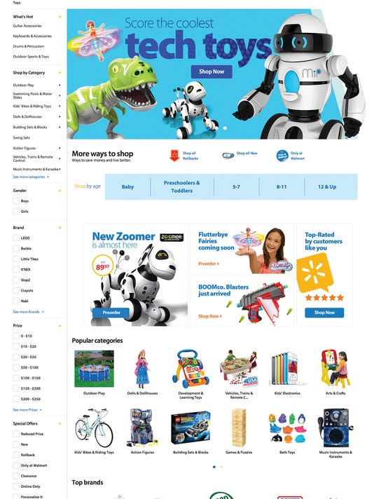 Wal Mart Website