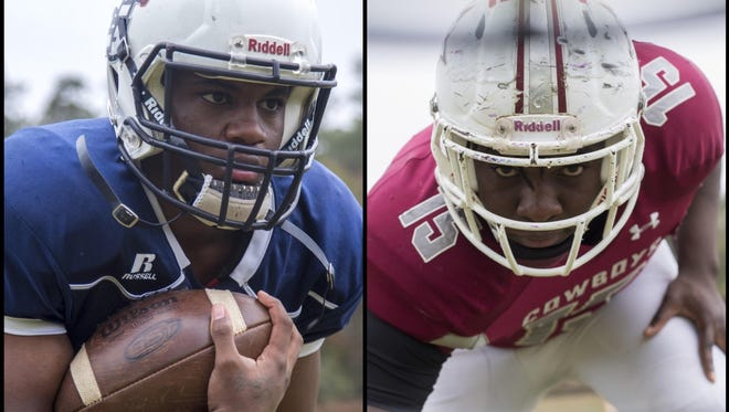 East Gadsden sophomore running back Tony Street rushed for 2,040 yards and 24 touchdowns and is the 2016 All-Big Bend Offensive Player of the Year; Madison County senior defensive end Kelvin Kegler made 29 tackles for loss and is the 2016 All-Big Bend Defensive Player of the Year.
