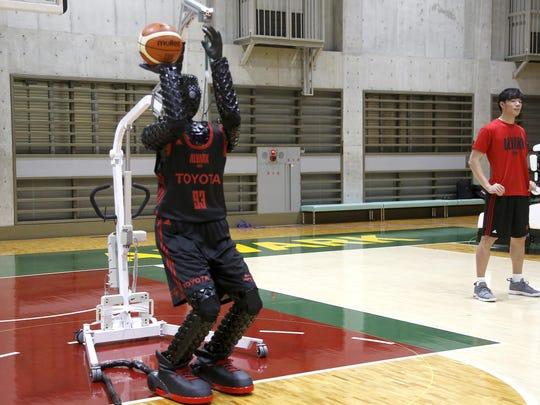 Japan Toyota Basketball Robot