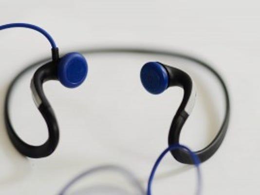 Headphones. Photo taken Wednesday, September 10, 2014. Kate Penn -- Daily Record/Sunday News