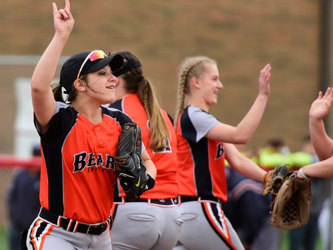 Gibsonburg softball defeats Northwood 14-2 on May 15,