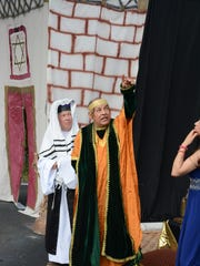 King Herod asks his advisor if the star in the sky heralds his death.
